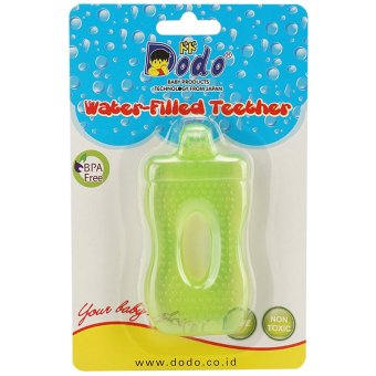 Dodo Water Filled Teether Dot Hijau-TTB107