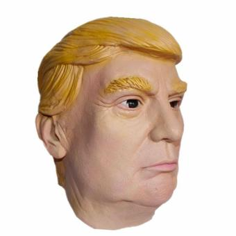 Donald Trump Halloween Latex Mask Silicone Presidential PoliticianCosplay intl