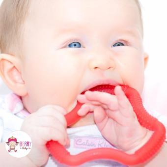 YooBerry Dr Brown's Gigitan Bayi Flexees A Shaped Teether