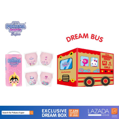 [DREAM BUS BOX] Pokana Super Pants Girl M32 isi 4+ FREE matching sticker