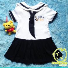 dress / pakaian  / baju  bayi perempuan sailor girl