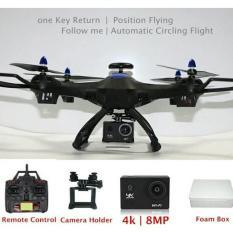 DRONE x183 Dual GPS follow me + 4k action camera 8mp