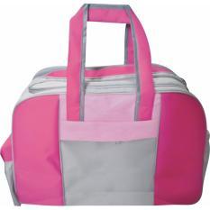 EMWE Travel Baby Bag Organizer Large Tas botol susu bayi balita Diaper travell - Magenta pink