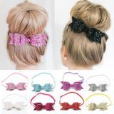 Fangfang Anak-anak Perempuan Bunga Karet Rambut Pita Bando Aksesoris Headwear Elastis Hadiah-Intl ...