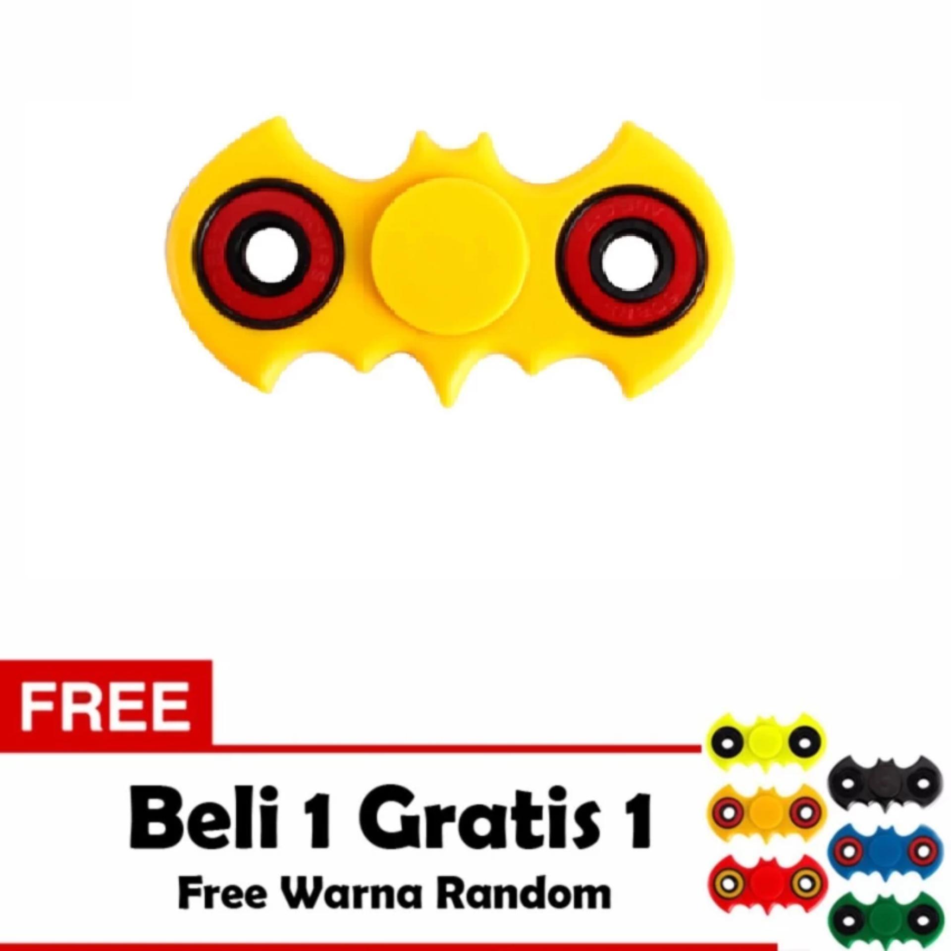 Fidget Spinner Bat-man Hand Toys Mainan EDC Ceramic Ball Focus Games .