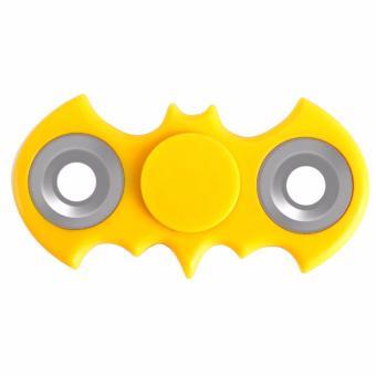 Terbaik Murah Fidget Spinner Batman Metal Hand Finger Toys for Focus Anxiety & Stress Relief EDC Duo-Spinner - Mainan Jari Tangan Putar Kelelawar Besi untuk ...