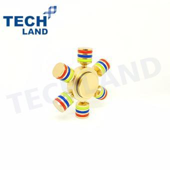 Detail Gambar Fidget Spinner / Hand Spinner Techland Premium Quality Brass Hybrid Ceramic Bearing Focus Games