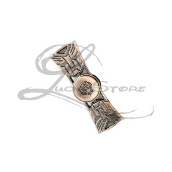 Fidget Spinner Hand Spinner TRANSFORMERS Premium Spiner Besi Transformer Metallic Aluminium Metal Alloy Ceramic Hybrid 2 Sisi Sayap - Random Color - 1 Pcs - 4