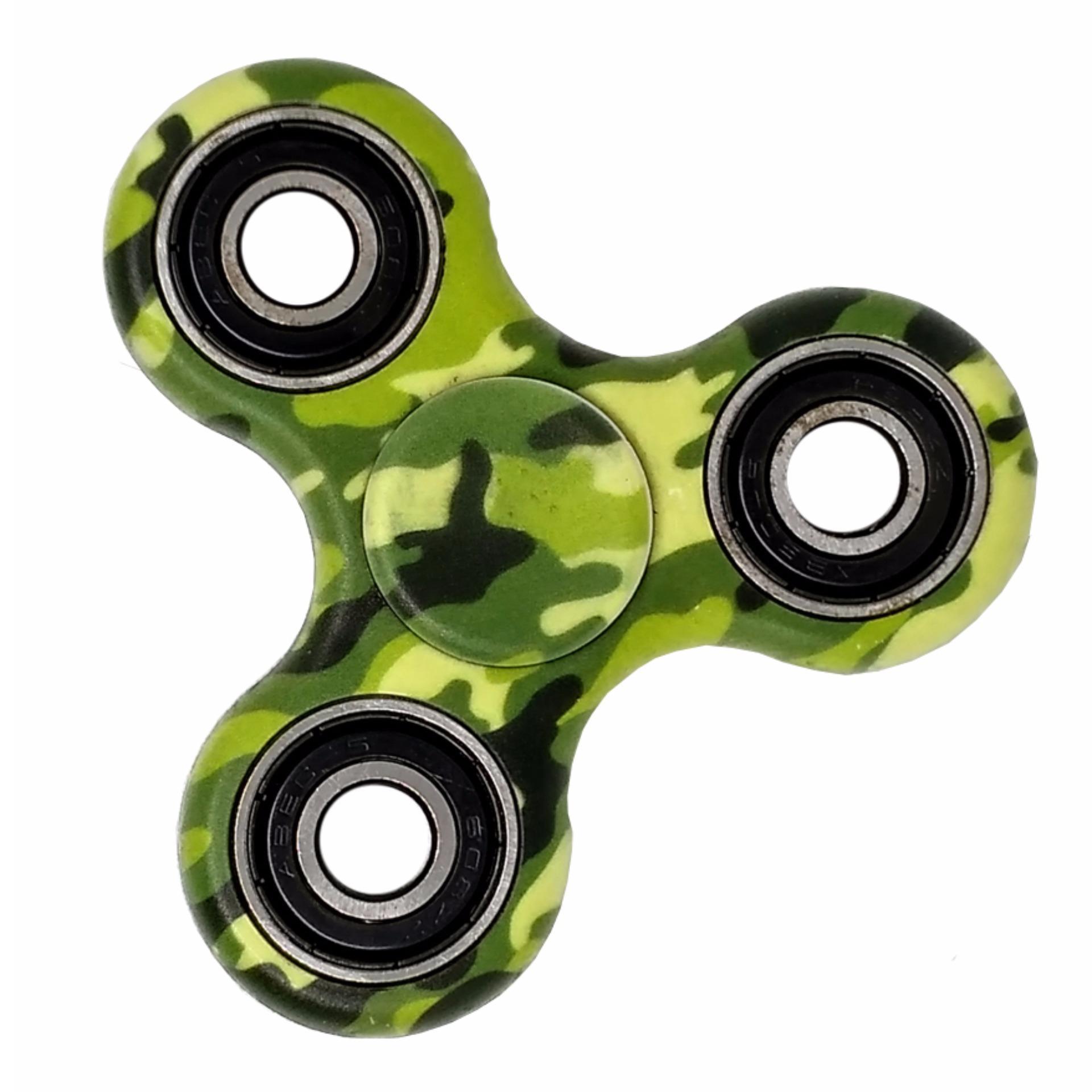 Fidget Spinner Hand Tri Spinner Toys Mainan EDC Ceramic Ball Focus Games Limited .