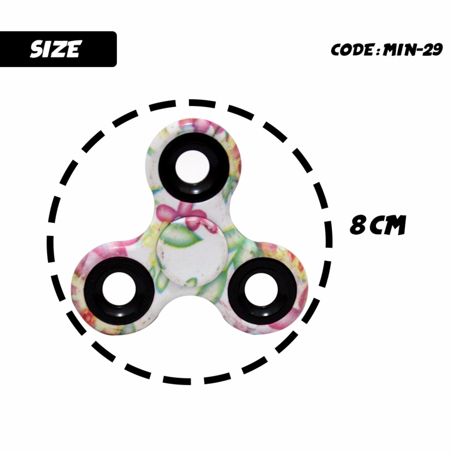 Fidget Spinner 9 Balls Triangle Kuning Daftar Harga Terbaru Dan Full Metal Segi Tiga Sj0048 Motif Belang Unik Menarik