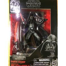 Figure Star Wars Black Series Titanium Hasbro Darth Vader ORI TERMURAH