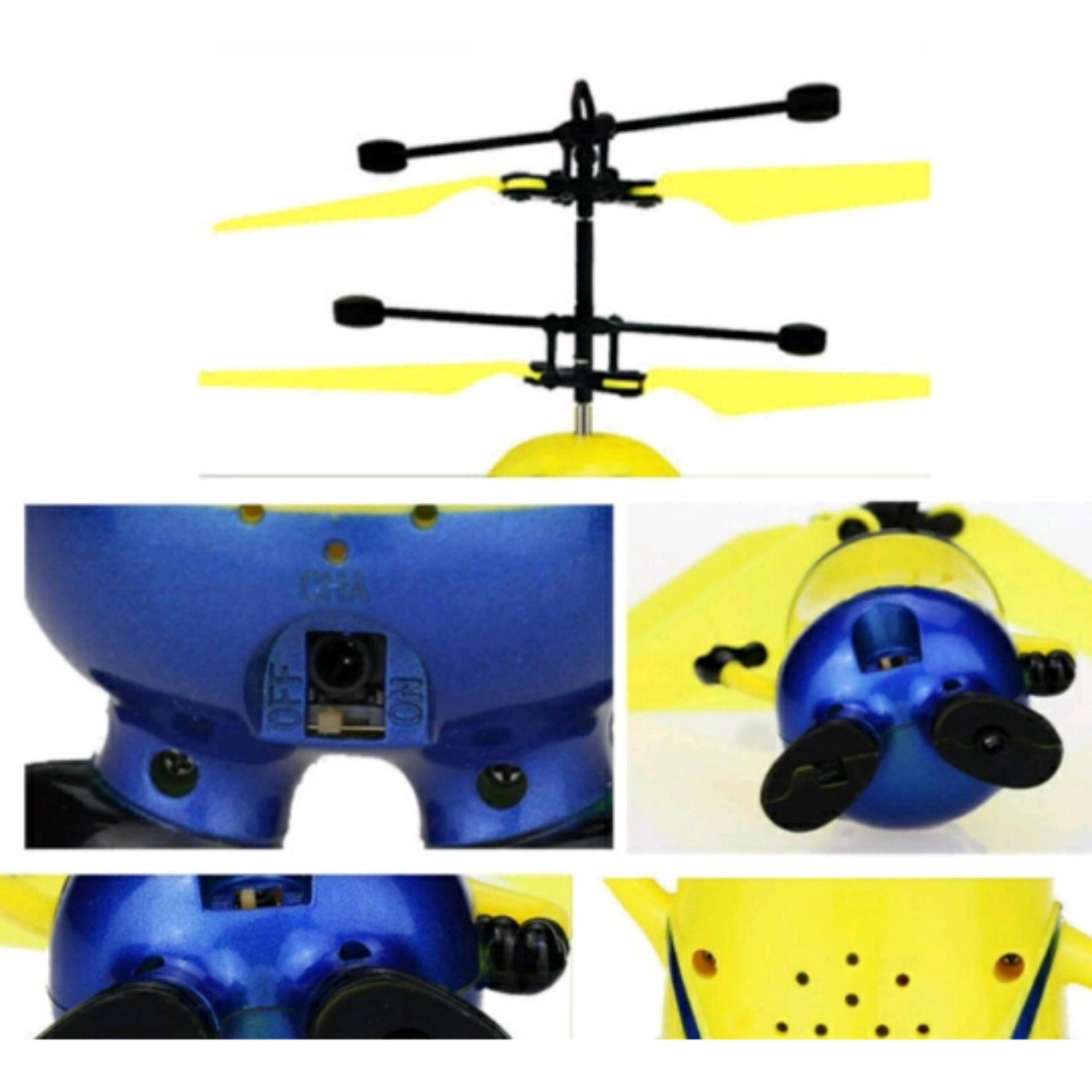 Flying Toy - Mainan Anak Terbang M121A Karakter MINION ...