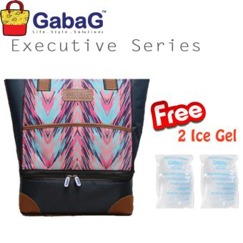 GabaG Cooler Bag Executive Series Rayana (Free 2 Ice Gel)