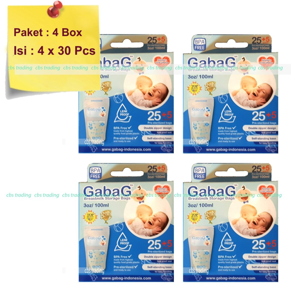 Index of upload gabag Source · Gabag Kantong ASI BPA Free 100ml Breastmilk Storage Bag Newborn