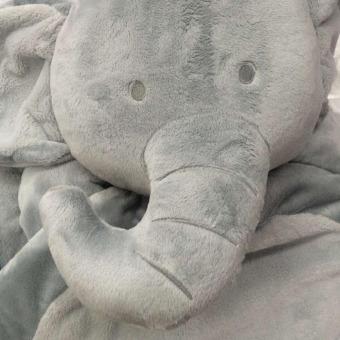 Gajah lucu anak bayi tidur tikar lembut kasur mewah bantal bantalan - Internasional .