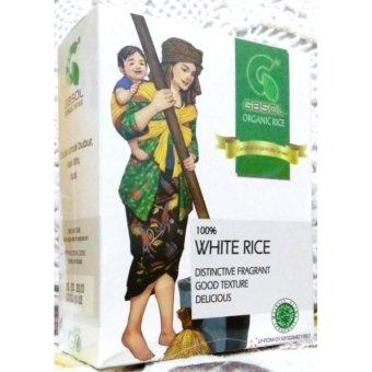 Gasol Beras Putih Organik (Organic Rice White Rice) - 300 gram