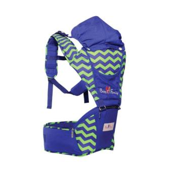 Gendongan Hipseat / Depan Baby Scots - Baby Family Series 3 - Navy