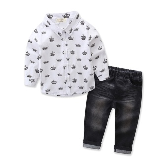 aef021d3d Harga Murah Spring Autumn Baby Boys Outfits Clothing Sets Children ...