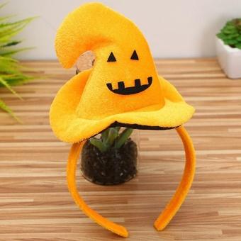 Halloween Hair Hoop Pumpkin Bat Hat Party Supplies - intl