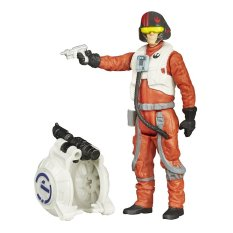 Hasbro Star Wars The Force Awakens - Space Mission Poe Dameron - 3.75