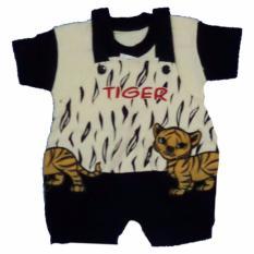 Hayami Baju Kodok Bayi Motif Tiger