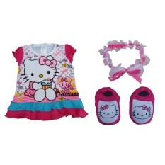 Hello Kitty Karakter Set Perlengkapan Bayi (for new born)