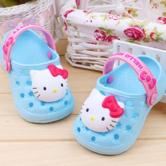 Sleepwearkids Piyama Baju Tidur Anak SK 0254 NAVY BLUE Source Hello Kitty Lembut Bawah
