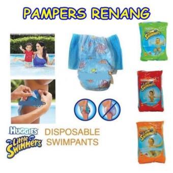 harga HLF PAMPERS RENANG Swimpants Huggies uk S untuk 7 - 12 kg Lazada.co.id