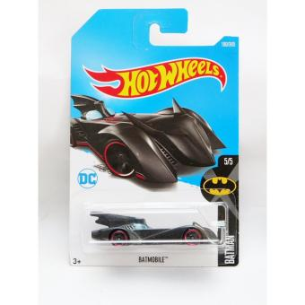 Hot Wheels Batmobile - redline - hitam