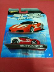 Hot Wheels - Ferrari F430 Challenge Red Speed Machines Card Not Mint