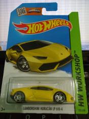 Hot Wheels - Lamborghini Huracan LP 610-4 Yellow