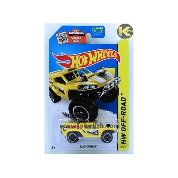 Hot Deal Hot Wheels Land Crusher Kuning (Code : 18-139)