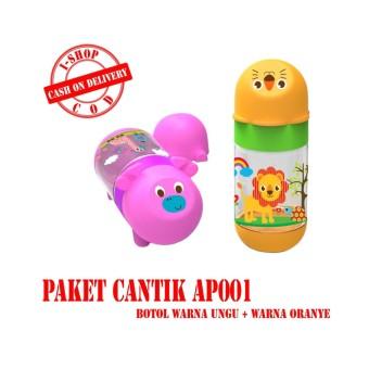 i-shop PAKET CANTIK Baby Safe Botol Susu Bayi 125 ml / Feeding Bottle 250ml