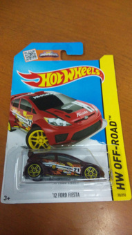 Harga Hot Wheels - 12 Ford Fiesta Red