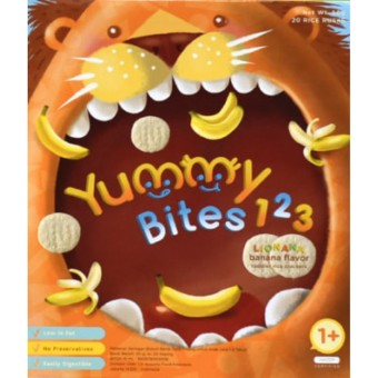 Harga Yummy Bites for Toddler 123 Lionana - Banana