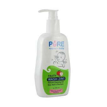 Harga Pure Baby Baby Wash 2in1 Fruity230ml