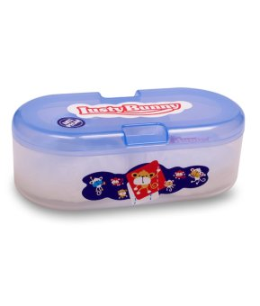 Harga LustyBunny Baby Oval Powder Case