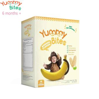 Harga Yummy Bites Baby Rice Cracker 50 Gram - Banana(Na)