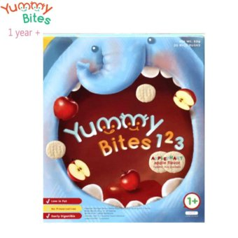 Harga Yummy Bites For Toddler 123 Applephant - Apple(Na)