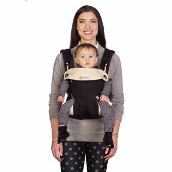 Harga Ergobaby Baby Korea Style Carrier Top Baby Sling Hipseat four style 360 baby baby sling cotton multifunction baby carrier air section- Black Camel - intl