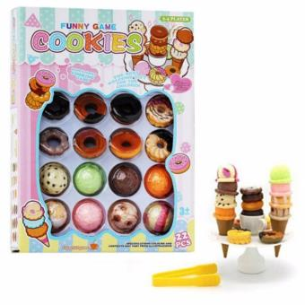 Harga Funny Game Stacking Cookies