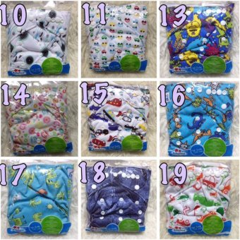 Us Baby Breastpad 3d With Wing New Design Putih .