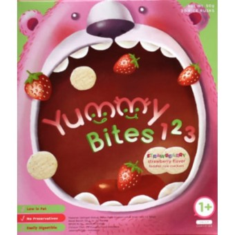 Harga Yummy Bites for Toddler 123 Strawbearry - Strawberry