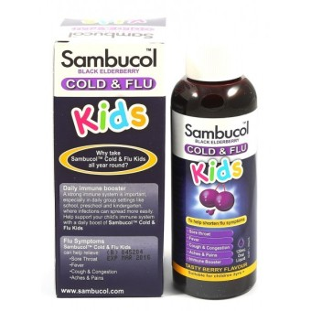 Harga Sambucol Cold & Flu Liquid 120ml - Kids
