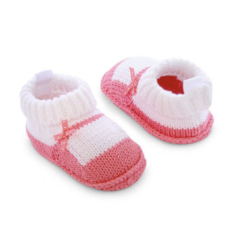 Harga Baby Grow Newborn Knitted Booties – Mary Jane