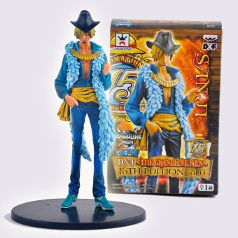 Harga Banpresto Craneking DXF 15th Edition Japanese Anime One Piece Black Leg Cook Chief Sanji Action Figure Sword One piece Figures