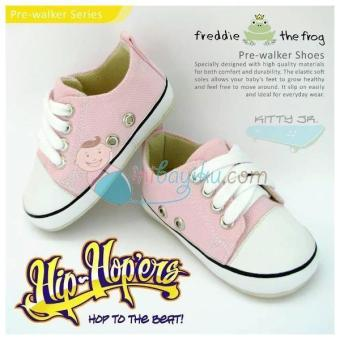 Harga Freddie The Frog Baby Shoes Kitty Jr Size 4 Color Pink White Age 6M - 9M
