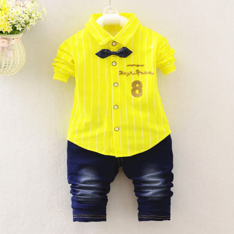 Ciliang Happy Time Store Source · Fashion musim gugur 0 3 tahun tua anak bayi lucu