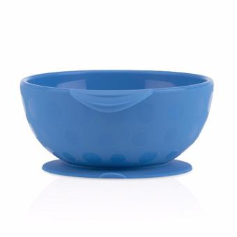 Harga Nuby Sure Grip Bowl - Biru