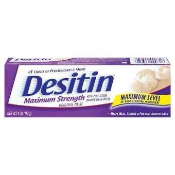 DESITIN Maximum Strength Original Paste (113 GR) Original USA 100%